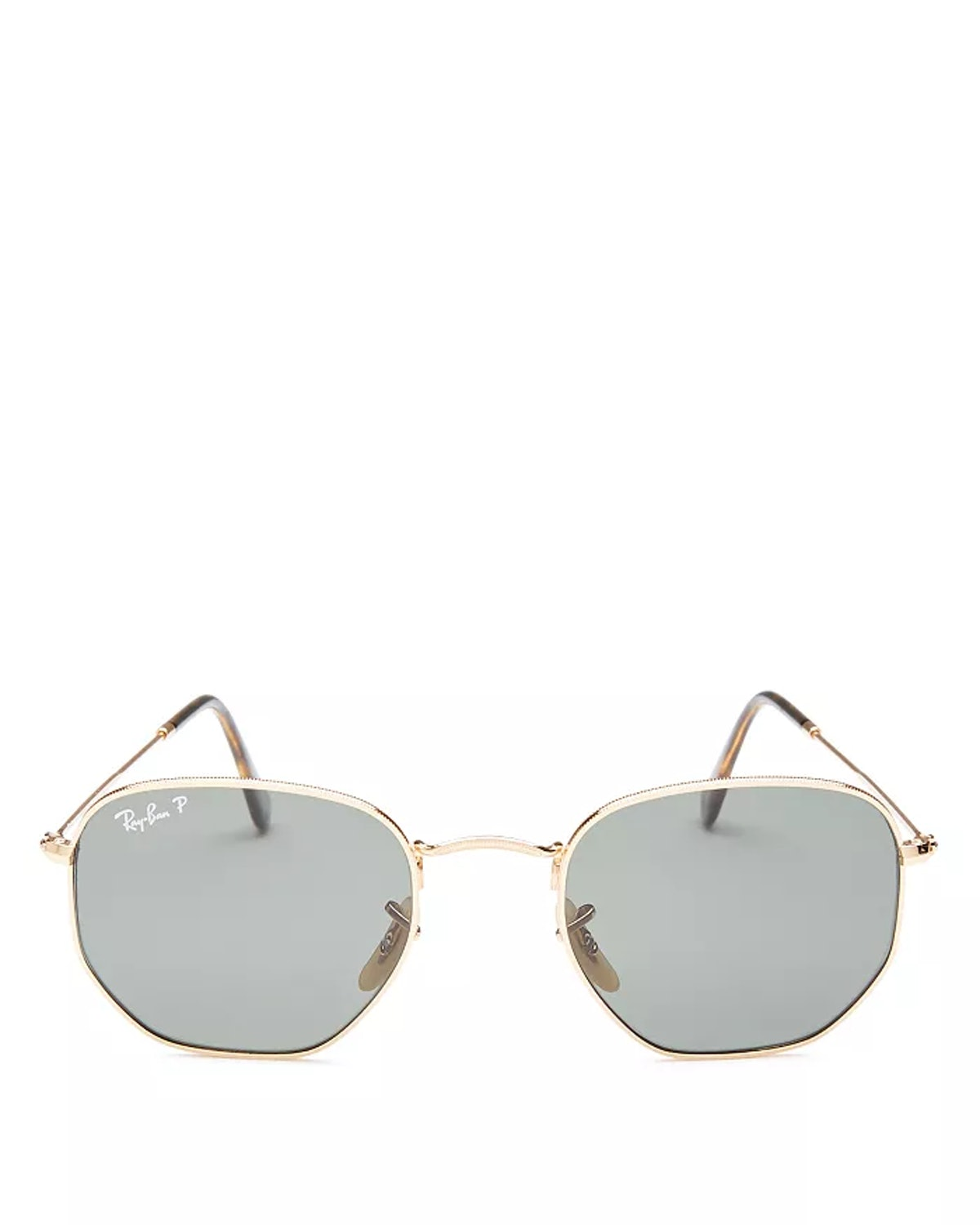 Unisex Icons Polarized Hexagonal Sunglasses from Ray-Ban, available to shop on Bloomingdale's.