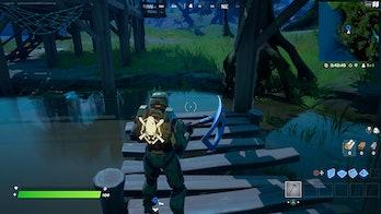 fortnite week 10 alien artifact location 5 gameplay