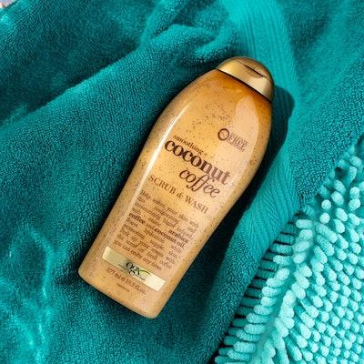 OGX Coconut Coffee Scrub and Wash