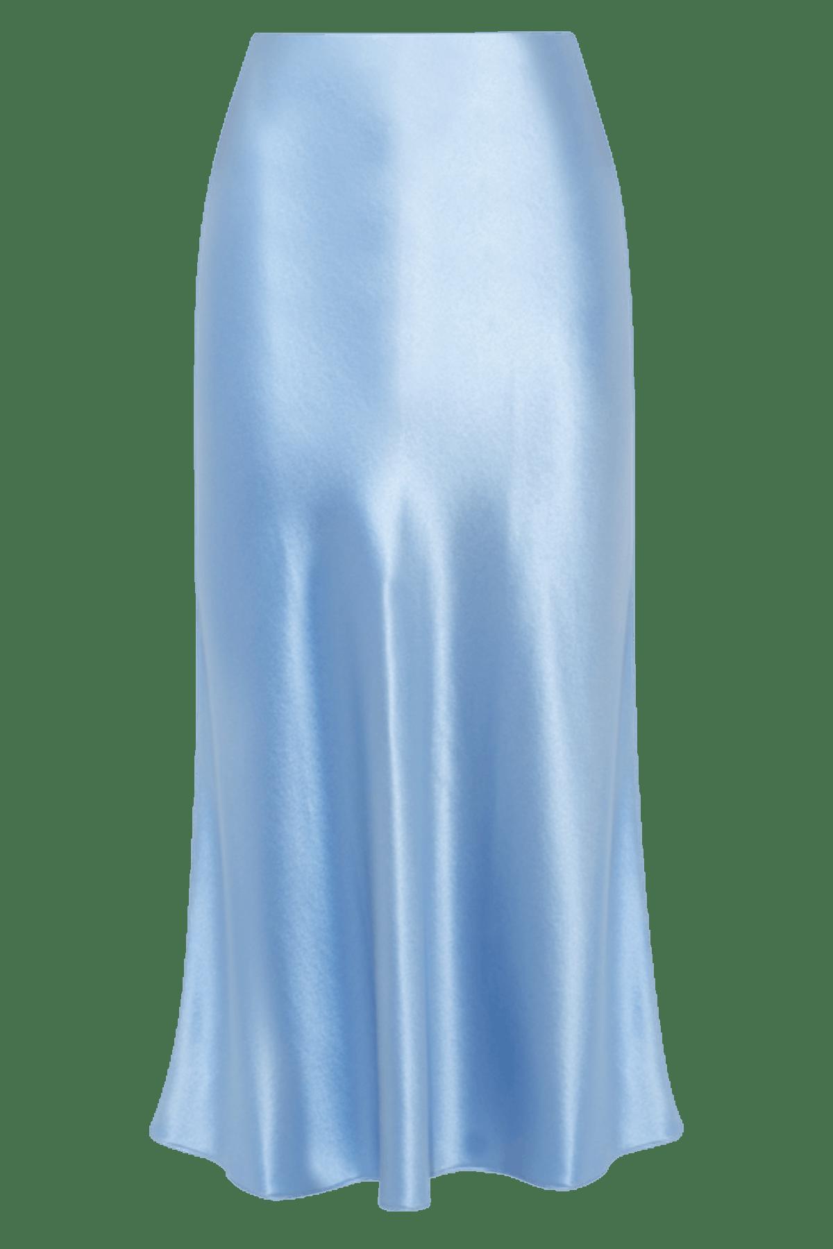 Refine silk skirt