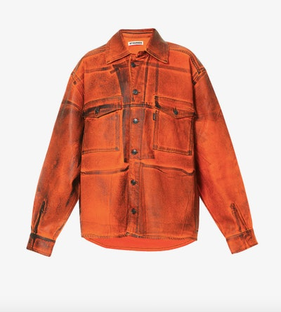 Ottolinger x ISKO Oversized Stretch-Denim Jacket