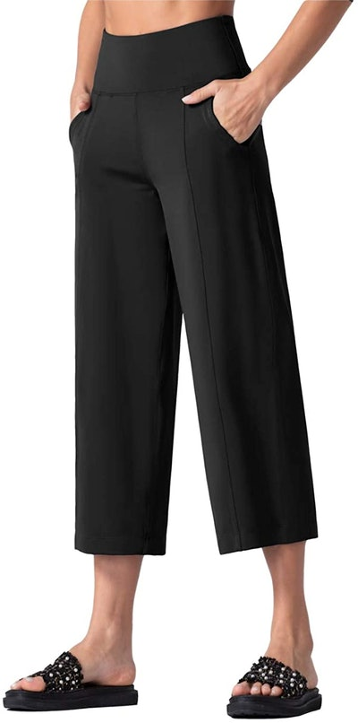 THE GYM PEOPLE Bootleg Yoga Capris Pants