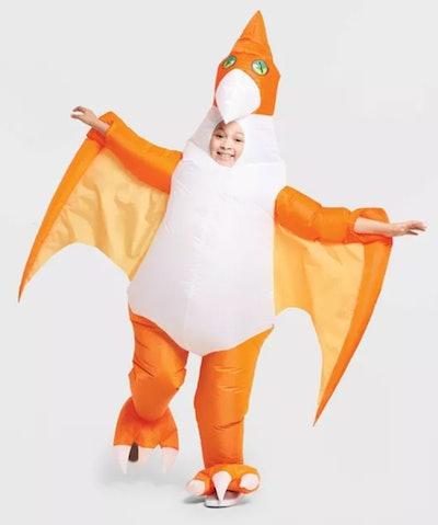 Kids' Inflatable Pterodactyl Halloween Costume One Size