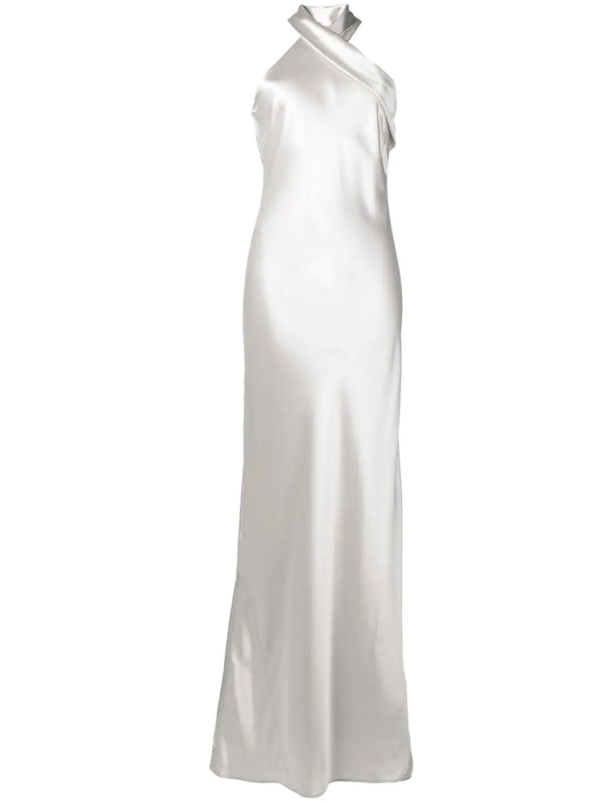 Pandora Halter Neck Dress from Galvan London.