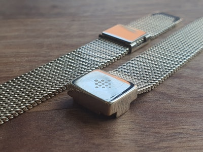 Fitbit Luxe mesh strap scratches up fast