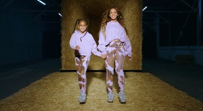 Beyoncé and Blue Ivy in Ivy Park Rodeo