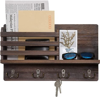 Dahey Wall Mounted Mail Holder