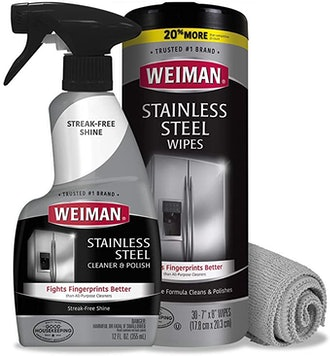 Weiman Stainless Steel Cleaner Kit