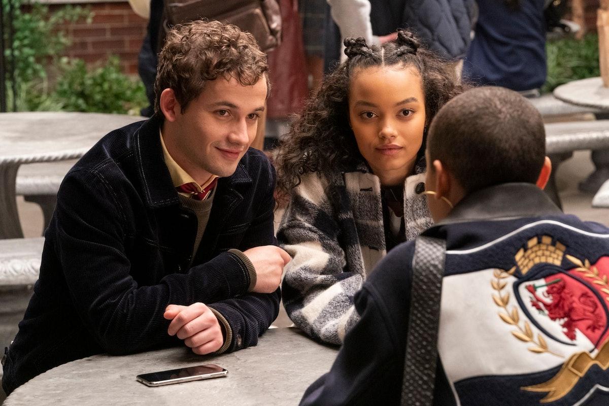 Eli Brown, Whitney Peak in 'Gossip Girl'