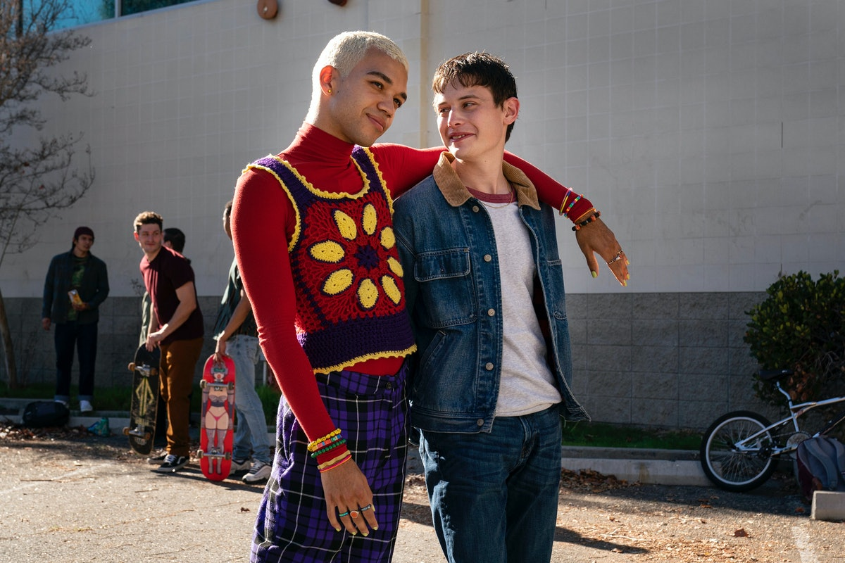Justice Smith and Uly Schlesinger in Genera+ion.