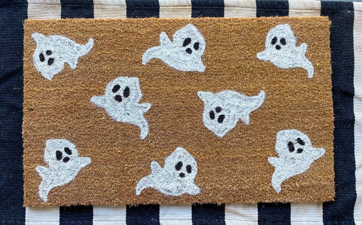 Ghost doormat | Halloween doormat