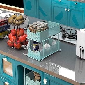 Simple Houseware 2-Tier Under-Sink Organizer