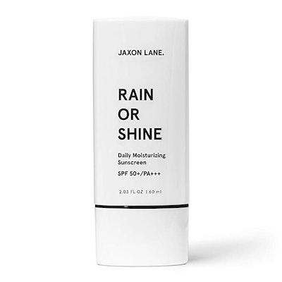 JAXON LANE RAIN OR SHINE Face Sunscreen