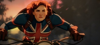 Captain Carter (Hayley Atwell) in What If...? Episode 1