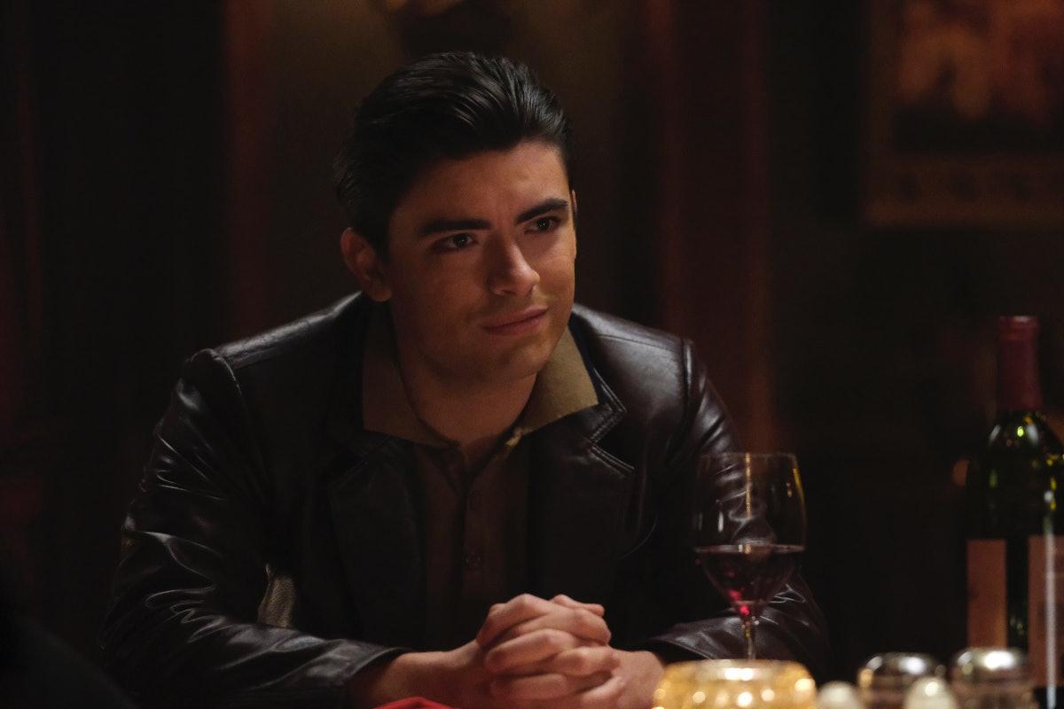 Michael Consuelos as Young Hiram in the 'Riverdale' Season 5, Episode 12 promo