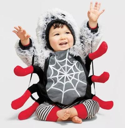 Baby Pullover Spider Halloween Costume