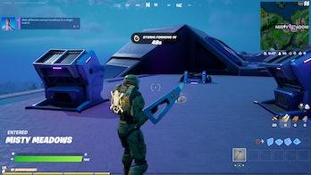 fortnite abductor landing