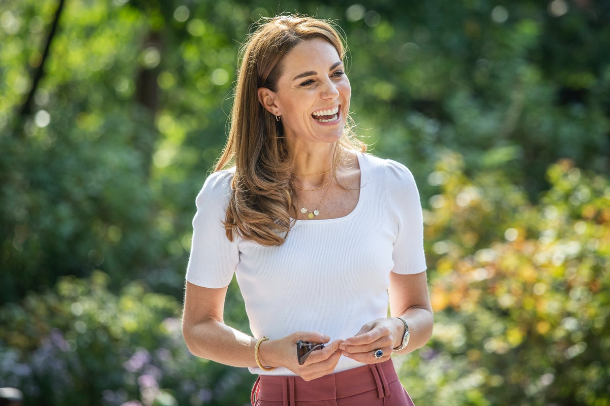Catherine, Duchess of Cambridge hears from families and key organisations about the ways in which pe...