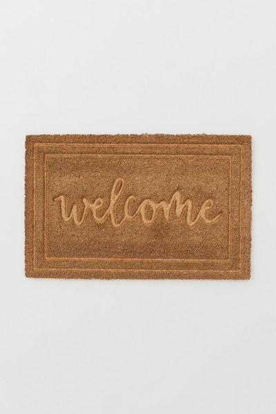 Coconut fibre doormat