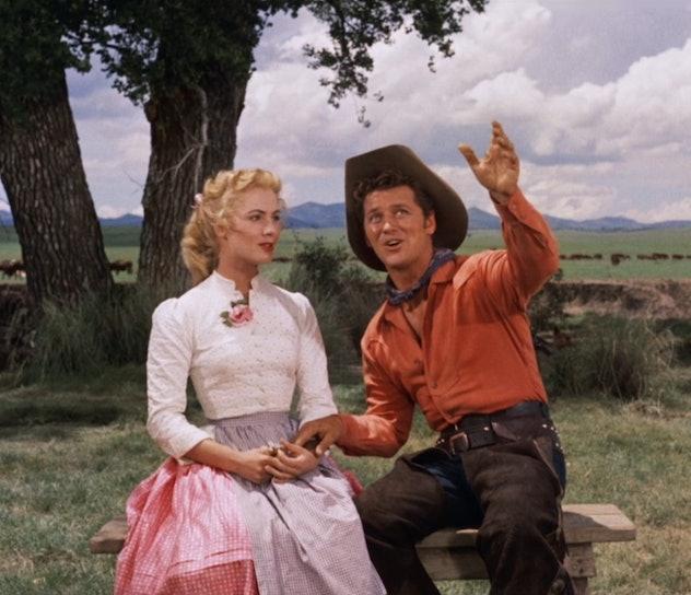 Oklahoma is a musical starring Shirley Jones