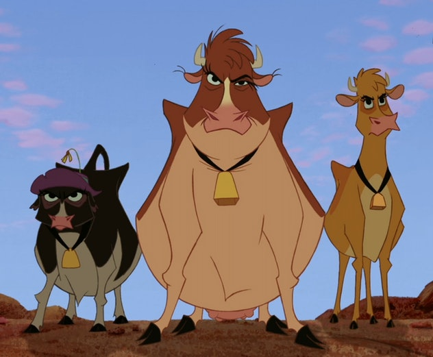 Home on the Range was one of the the last hand-drawn Disney animated features
