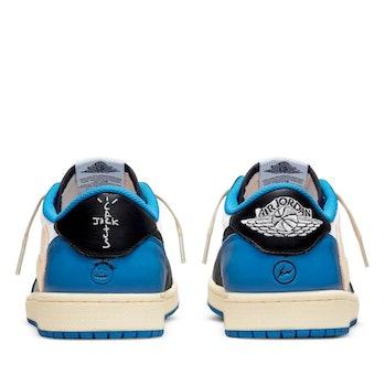 Nike travis scott fragment design air jordan 1 low