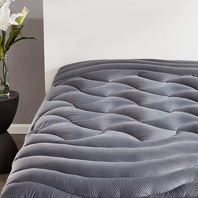 SLEEP ZONE Cooling Mattress Pad Cover