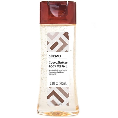 Solimo Body Oil Gel with Cocoa Butter