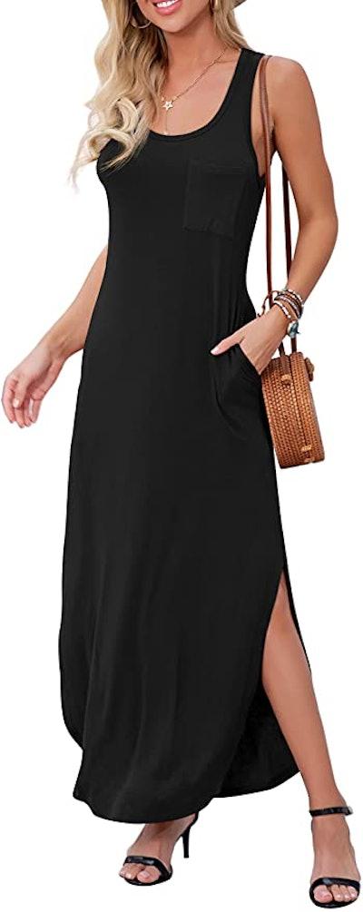 GRECERELLE Sleeveless Summer Long Maxi Dress