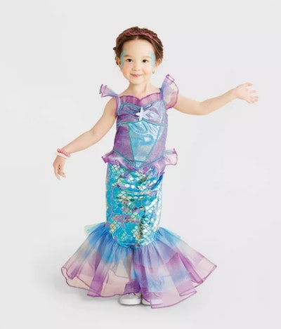 Toddler Mermaid Halloween Costume