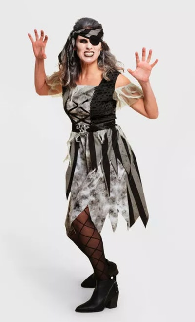Adult Pirate Halloween Costume Dress