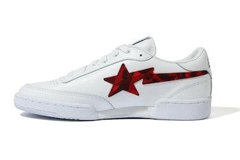 Reebok x BAPE BAPESTA sneaker collaboration