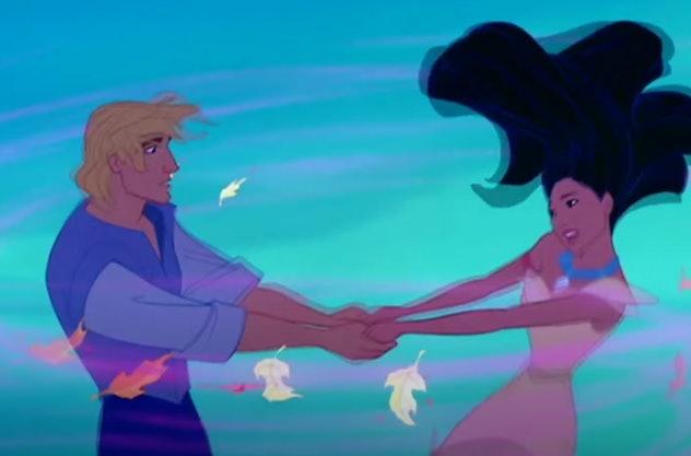 Pocahontas is streaming on Disney+.