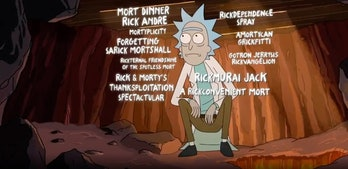 rick and morty season 5 episode titles