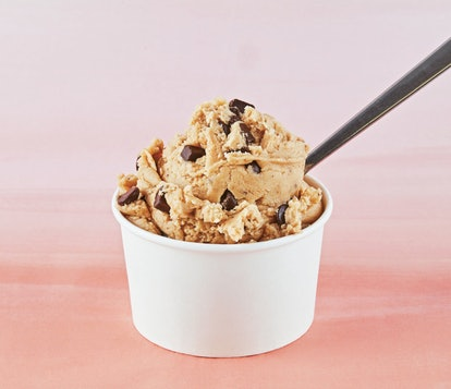 Edible Cookie Dough is a recipe from Dana's Bakery to make with kids.