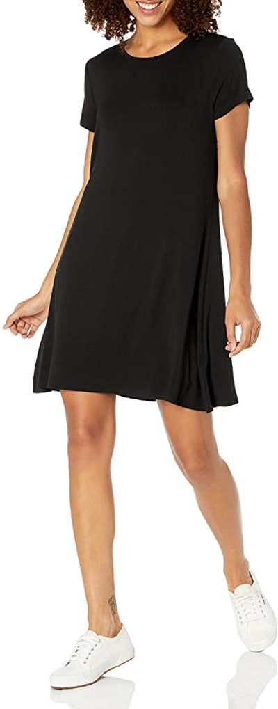 Amazon Essentials Short Sleeve Scoopneck Dress