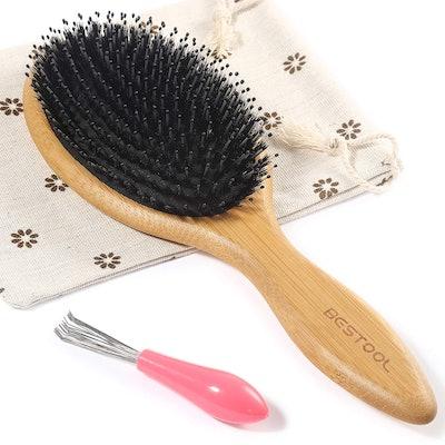 BESTOOL Boar Bristle Hair Brush
