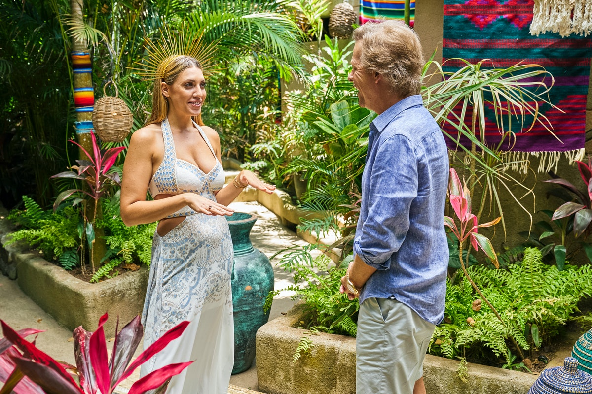 Victoria Larson and David Spade on 'Bachelor in Paradise'