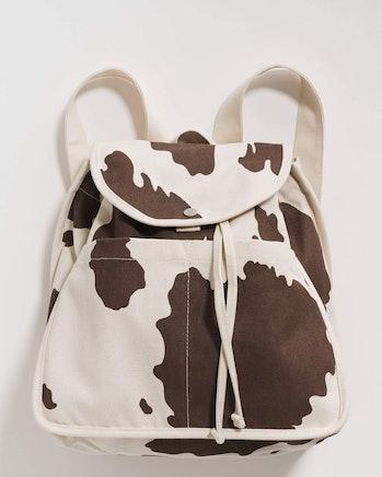 cow print backpack baggu sustainable back to school