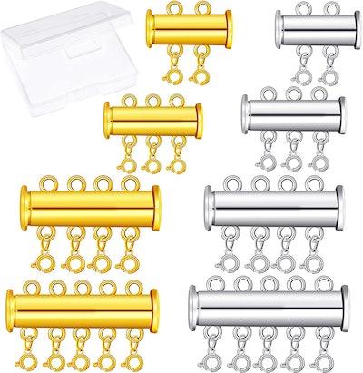 WILLBOND Jewelry Clasps (8-Piece)