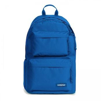 eastpak blue backpack monochrome