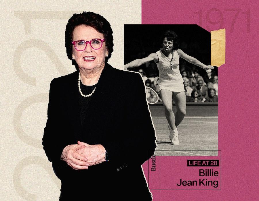 Billie Jean King at age 28