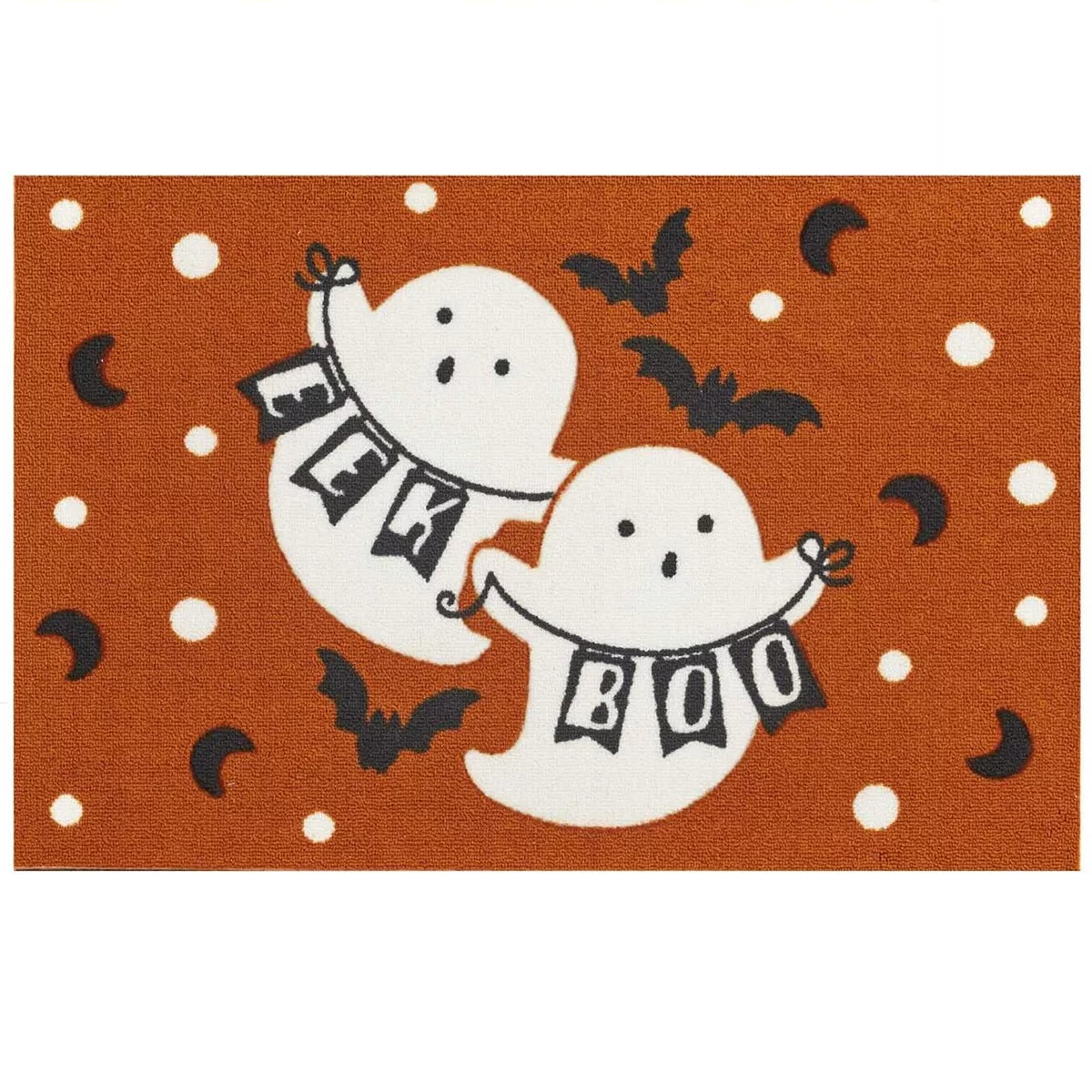 Celebrate Halloween Together Ghost Pals Halloween Accent Rug