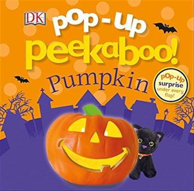 """Image of the book, """"Pop-up Peekabook! Pumpkin."""""""