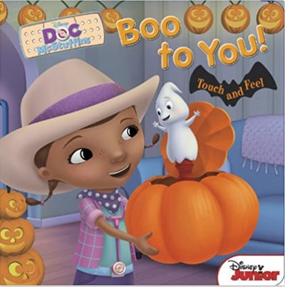 """Image of the book, """"Disney's Doc McStuffins Boo to You!"""""""