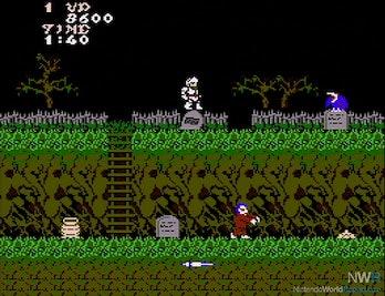 ghosts n goblins tombstone