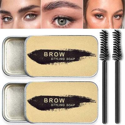 Beauty Glazed Eyebrow Styling Soap (2-Pack)