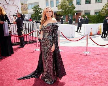 Marlee Matlin at the 2021 Oscars.