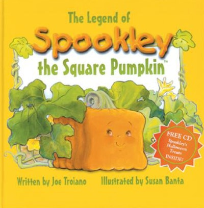 """Image of the book, """"The Legend of Spookley The Square Pumpkin."""""""