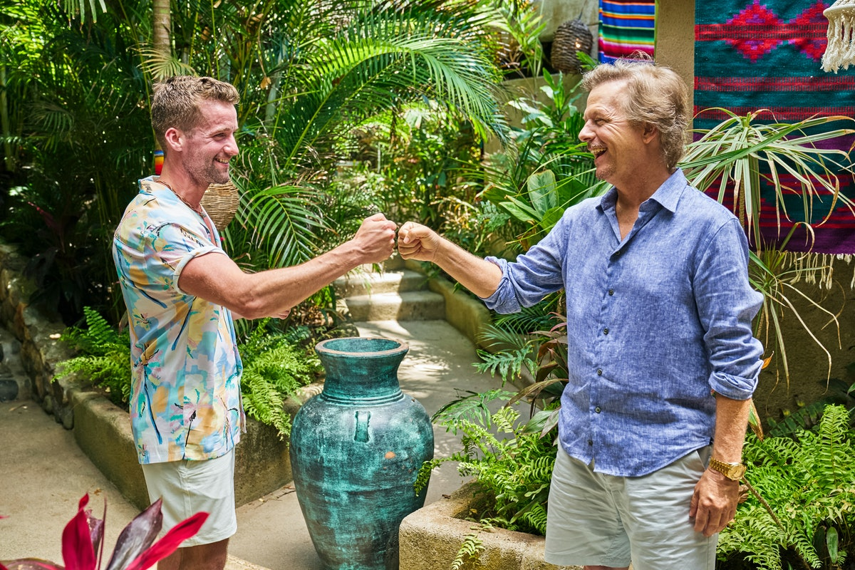 Connor Brennan and David Spade on Season 7 of ABC's 'Bachelor in Paradise'